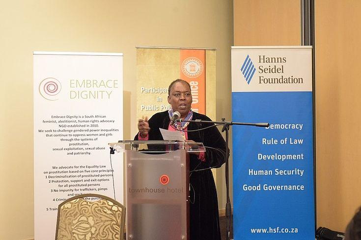 Embrace Dignity Director Nozizwe Madlala-Routledge