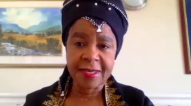Dr Mamphela Ramphele, former Anti-Apartheid Activist, Director at the Word Bank, Author, Co-President of the Club of Rome