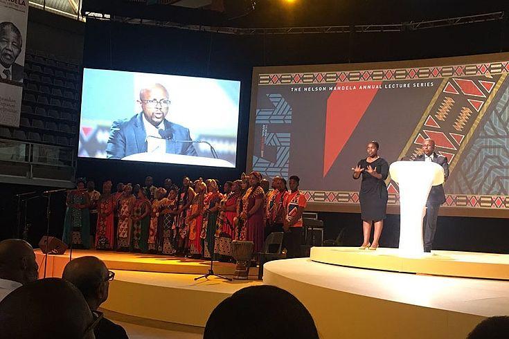 Sello Hatang, CEO of the Nelson Mandela Foundation