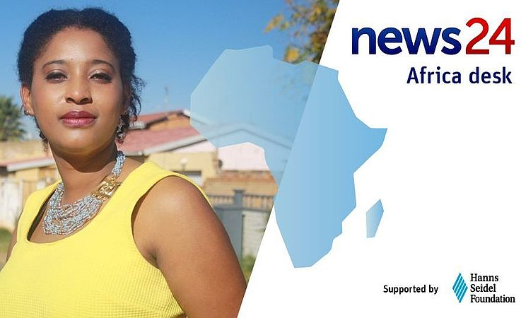Collage: News24 appointed journalist Lynsey Chutel to head the Africa desk