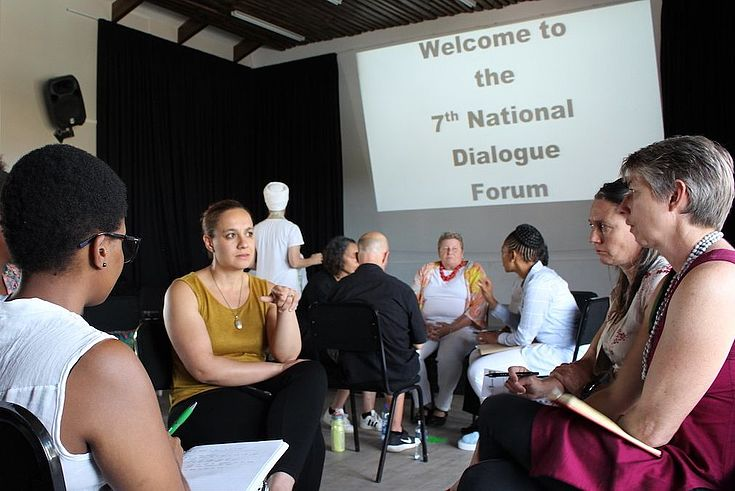 During a meeting of the Dialogue Forum