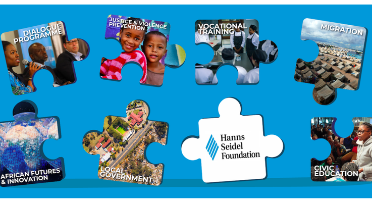 Puzzle Picture:Our partners in South Africa work in crucial areas of societal development