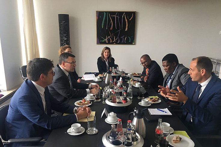 Meeting with Minister Dr Florian Herrmann and his team