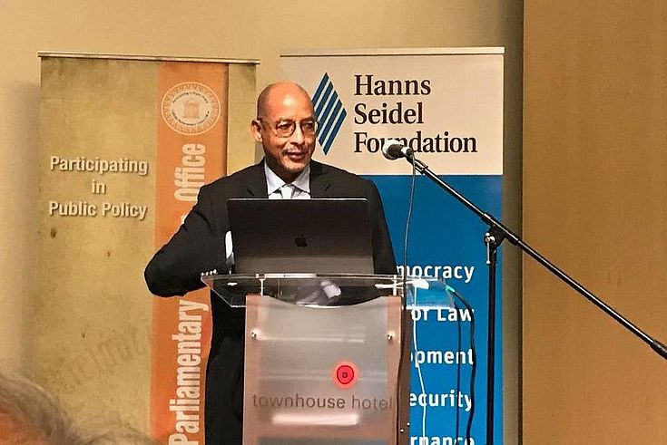CEO of the NEPAD Planning and Coordinating Agency Dr Ibrahim Mayaki