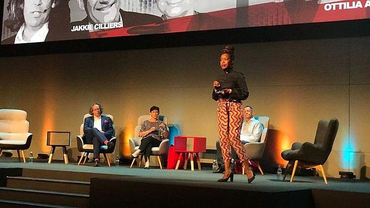 The Panel with Facilitator Ottilia Maunganidze