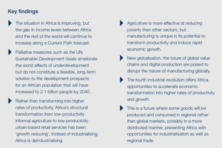 """""""Made in Africa"""" - key findings"""