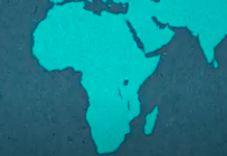 Map of Africa - a continent of over 50 diverse countries