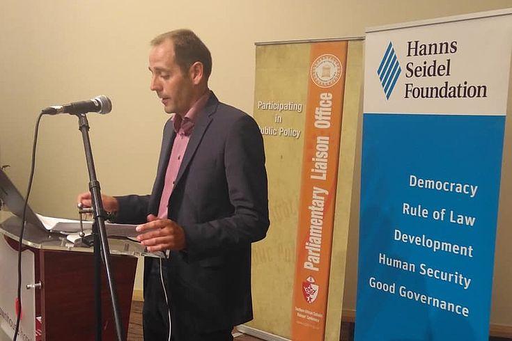 Hanns Bühler, HSF Regional Director