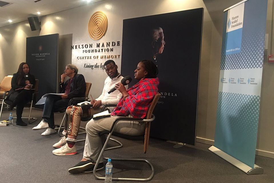 Lovelyn Nwadeyi sharing her thoughts